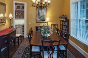 European Style House Plan - 4 Beds 4 Baths 3048 Sq/Ft Plan #929-1 Interior - Dining Room