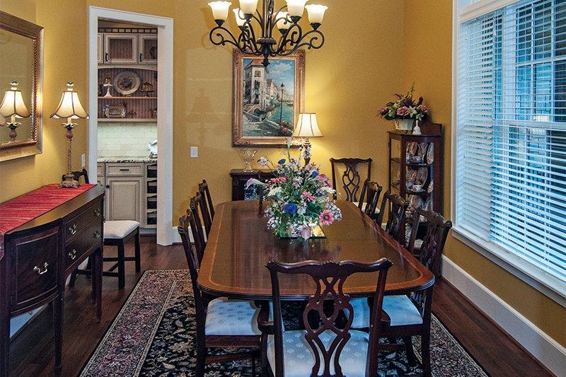 Craftsman Interior - Dining Room Plan #929-1 - Houseplans.com