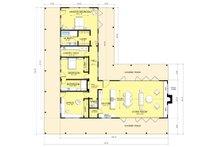 Ranch Floor Plan - Main Floor Plan Plan #888-5
