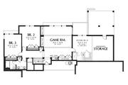 Prairie Style House Plan - 3 Beds 2.5 Baths 3528 Sq/Ft Plan #48-700 Floor Plan - Lower Floor Plan