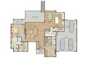 Modern Style House Plan - 2 Beds 2.5 Baths 2265 Sq/Ft Plan #1057-23