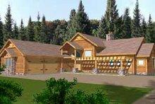 Home Plan - Modern Exterior - Front Elevation Plan #117-268
