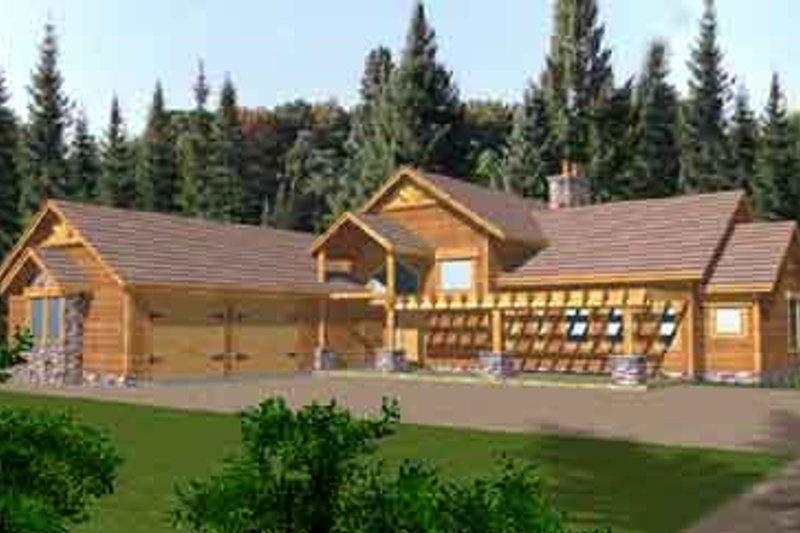 Dream House Plan - Modern Exterior - Front Elevation Plan #117-268