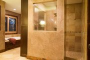 Craftsman Style House Plan - 4 Beds 3.5 Baths 3770 Sq/Ft Plan #56-583 Interior - Master Bathroom