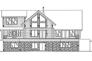Log Style House Plan - 3 Beds 2.5 Baths 2513 Sq/Ft Plan #117-416 Exterior - Other Elevation