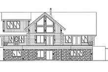 Log Exterior - Other Elevation Plan #117-416
