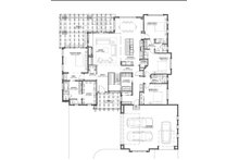 Prairie Floor Plan - Main Floor Plan Plan #1069-8