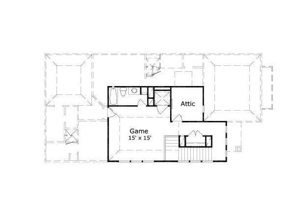 European Floor Plan - Other Floor Plan #411-649
