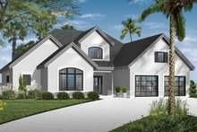 Home Plan - Mediterranean Exterior - Front Elevation Plan #23-2242