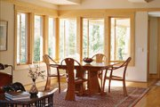 Prairie Style House Plan - 3 Beds 2.5 Baths 2979 Sq/Ft Plan #454-7 Interior - Dining Room