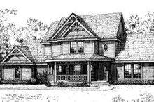 Victorian Exterior - Front Elevation Plan #310-176