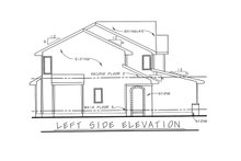 House Plan Design - European Exterior - Front Elevation Plan #20-1513