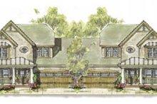 Home Plan Design - Cottage Exterior - Front Elevation Plan #20-1267
