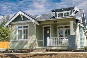 Craftsman Exterior - Front Elevation Plan #895-47