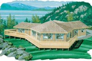 Modern Exterior - Front Elevation Plan #47-602