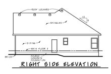 House Plan Design - Traditional Exterior - Other Elevation Plan #20-2423