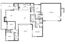 Modern Floor Plan - Main Floor Plan Plan #895-101