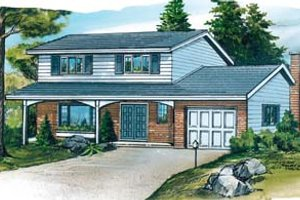 Traditional Exterior - Front Elevation Plan #47-441