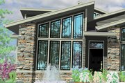 Modern Style House Plan - 3 Beds 3.5 Baths 2662 Sq/Ft Plan #509-11 Exterior - Other Elevation