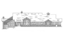 Home Plan - Traditional Exterior - Rear Elevation Plan #5-331