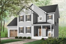 Dream House Plan - Country Exterior - Front Elevation Plan #23-581