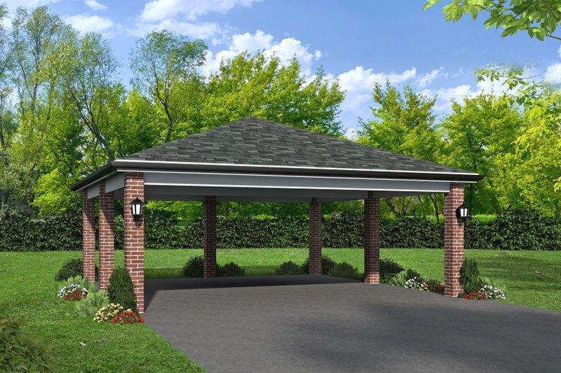 House Plan Design - Contemporary Exterior - Front Elevation Plan #932-83