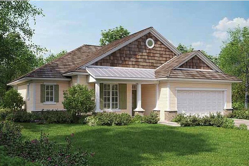 House Plan Design - Country Exterior - Front Elevation Plan #938-3