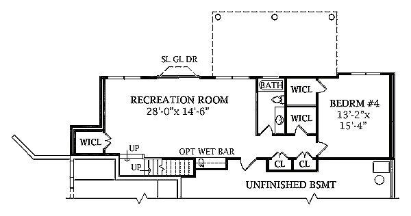 Victorian Floor Plan - Lower Floor Plan #456-16