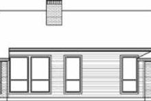 Dream House Plan - Traditional Exterior - Rear Elevation Plan #84-134