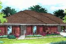 Home Plan - Southern Exterior - Front Elevation Plan #45-232