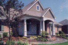 Architectural House Design - Craftsman Exterior - Other Elevation Plan #46-114
