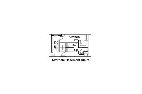 Traditional Floor Plan - Other Floor Plan Plan #124-320