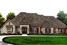 Dream House Plan - European Exterior - Front Elevation Plan #310-654