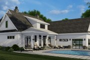 Farmhouse Style House Plan - 4 Beds 4.5 Baths 2913 Sq/Ft Plan #51-1153 Exterior - Other Elevation