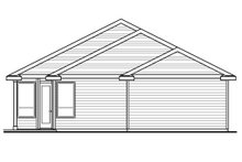 Dream House Plan - Ranch Exterior - Rear Elevation Plan #124-976