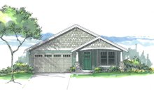 Home Plan - Craftsman Exterior - Front Elevation Plan #53-607