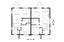 Modern Floor Plan - Main Floor Plan Plan #23-2673