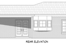 Dream House Plan - Traditional Exterior - Rear Elevation Plan #932-306