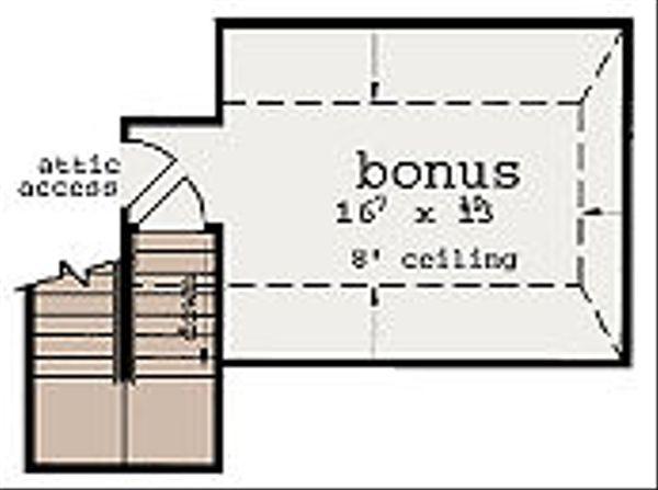 European Floor Plan - Other Floor Plan Plan #36-462