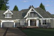 Craftsman Style House Plan - 4 Beds 3 Baths 2341 Sq/Ft Plan #51-573