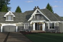 Dream House Plan - Craftsman Exterior - Other Elevation Plan #51-573