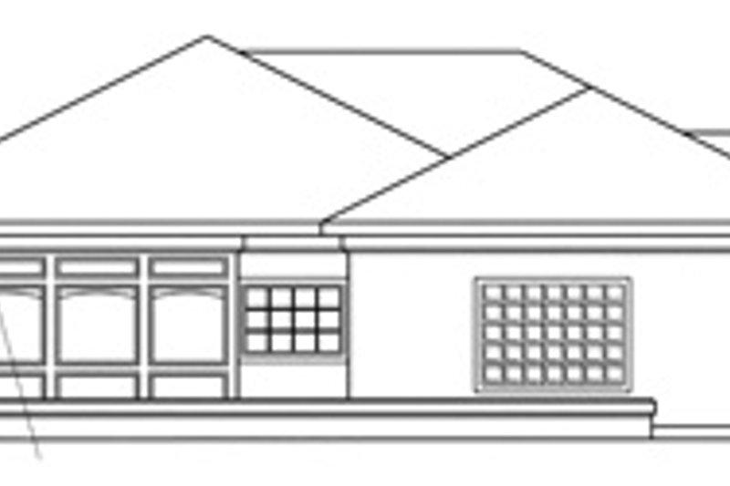 Mediterranean Exterior - Other Elevation Plan #124-132 - Houseplans.com