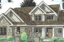 Traditional Exterior - Front Elevation Plan #20-230