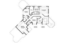 Traditional Floor Plan - Upper Floor Plan Plan #56-600