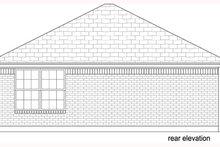 House Plan Design - Beach Exterior - Rear Elevation Plan #84-536