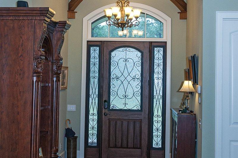 Craftsman Interior - Entry Plan #929-1 - Houseplans.com
