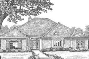 Traditional Exterior - Front Elevation Plan #310-300