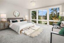 House Design - Contemporary Interior - Master Bedroom Plan #1066-62
