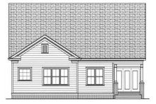 Home Plan - Victorian Exterior - Rear Elevation Plan #413-791