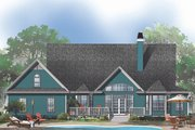 Farmhouse Style House Plan - 4 Beds 2.5 Baths 2482 Sq/Ft Plan #929-553 Exterior - Rear Elevation